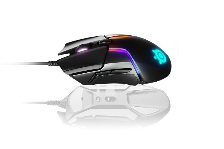 SteelSeries Rival 600 Gaming Mouse - 12,000 CPI TrueMove3Plus Dual Optical Sensor - 0.5 Lift-off Distance