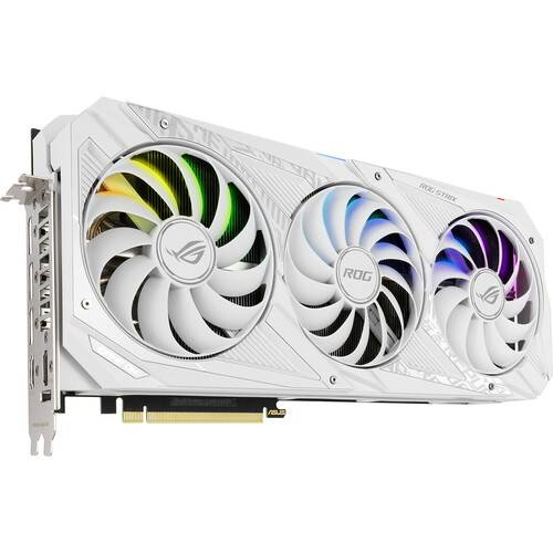 ASUS Republic of Gamers Strix GeForce RTX 3090 White Edition Graphics Card